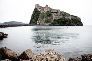medieval Aragonese castle, Ischia