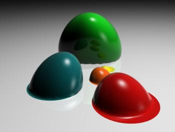 Melting balls