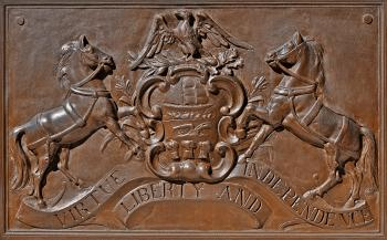 Memorial Plaque - Pennsylvania Coat of Arms