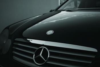 Mercedes Benz Black Car