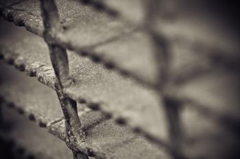 Metal grid texture