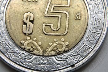 Mexican coin