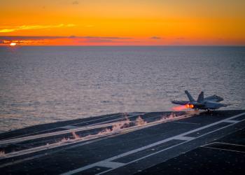 Military Jet Takeoff
