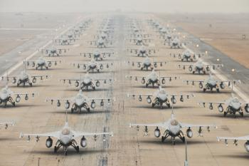Military Jets on the Runway