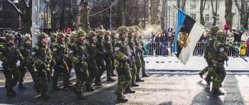 Military Marching Photo