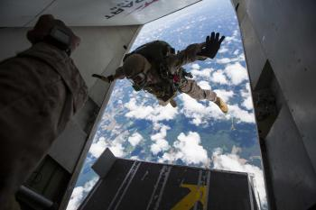 Military Skydivers