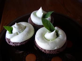 Mint Flavored Cupcakes