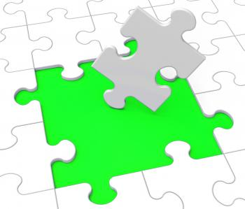 Missing Puzzle Pieces Shows Problems