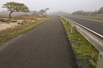 Misty Assateague Route - HDR