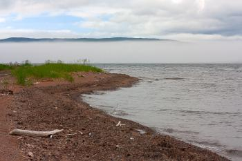 Misty Cabot Trail Scenery - HDR