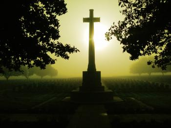 Misty Dawn On The Somme