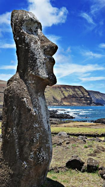Moai Statue in Easter Island