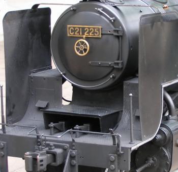 Model Steam Locomotive