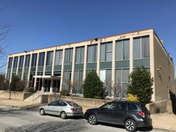 Modernist office building, 1505 Eutaw Place, Baltimore, MD 21217