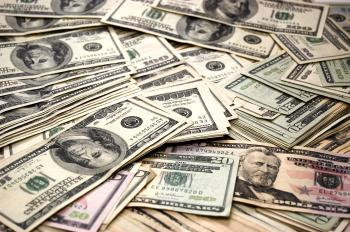 Money - Pile of Dollar Bills