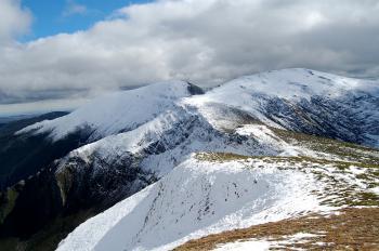 Montes Aquilianos desde el Pico Tuerto