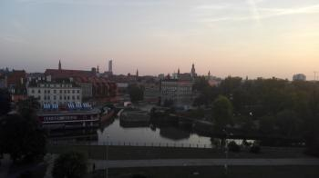Morning View in Wroclaw, Poland