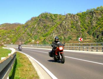 Motorcycle Touring in the Rhineland