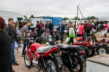 Motorcycles stand