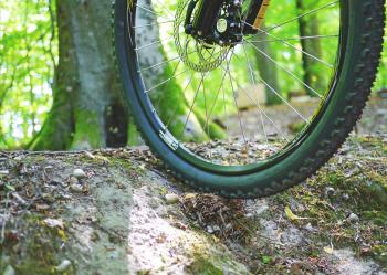 Mountain Bike Closeup