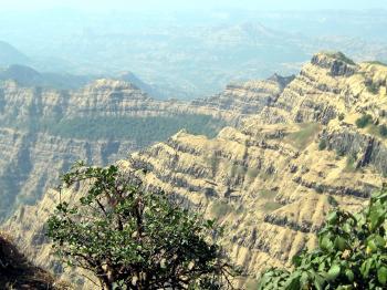 Mountain in Maharashtra, India