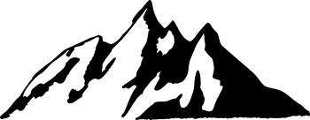 Mountain Lineart