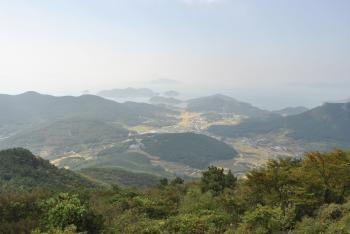 Mountains in Korea