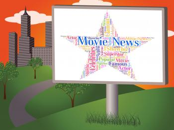 Movie News Represents Hollywood Movies And Cinemas