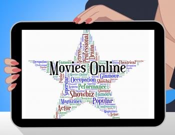 Movies Online Shows World Wide Web And Film