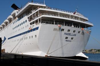 MS Magellan in Amsterdam