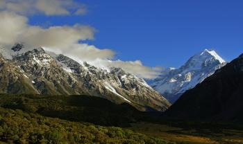 Mt Cook National Park. NZ