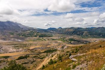 Mt st Helens Destruction