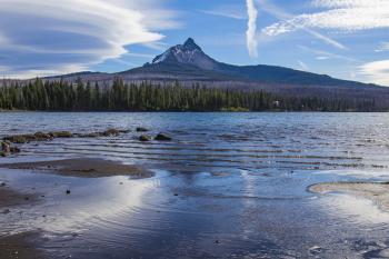 Mt. Washington from Big Lake, Oregon