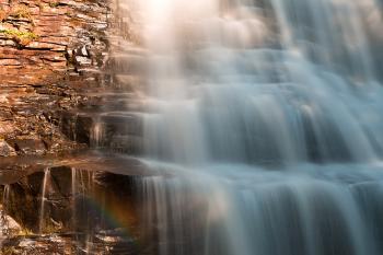 Muddy Creek Rainbow Falls
