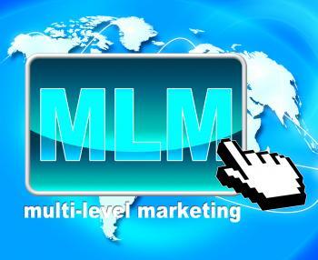 Multi Level Marketing Represents Web Site And Www