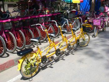 Multi-rider bicycles