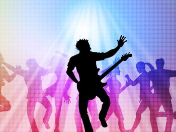 Music Concert Represents Live Event And Broadway