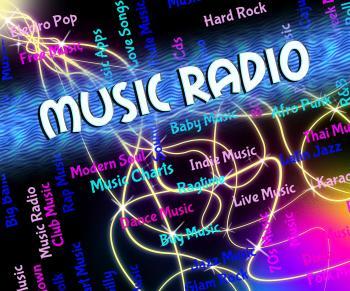 Music Radio Shows Sound Track And Audio