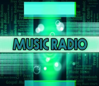Music Radio Shows Sound Tracks And Acoustic
