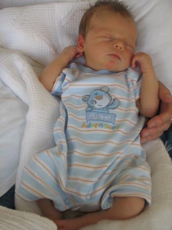 My first Grandchild