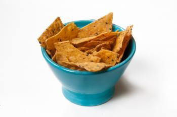 Nachos chips junkfood