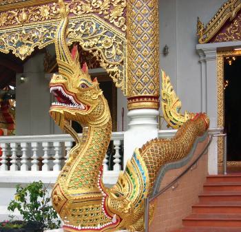 Naga - Phra Singh Temple
