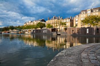 Nantes Riverside Scenery