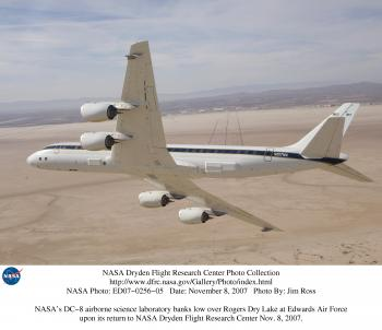NASA's DC-8 Flying Laboratory
