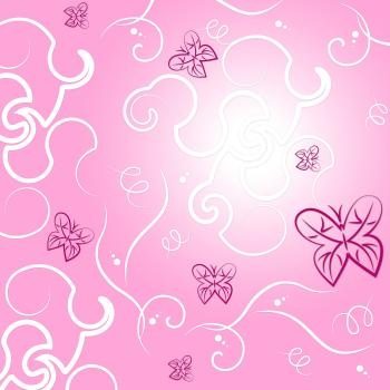 Nature Pink Means Backgrounds Design And Outdoors