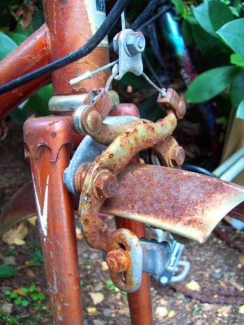 Neglected 1970s Healing 10 Speed Cycle F