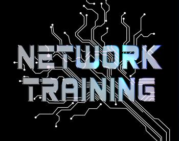 Network Training Represents Global Communications And Computer