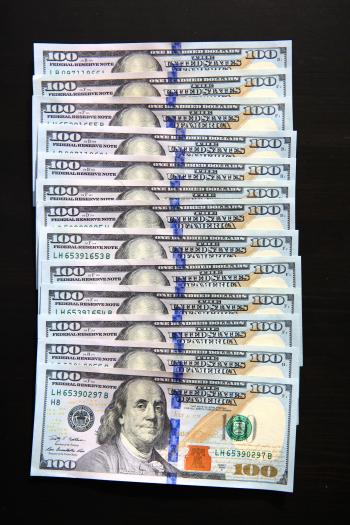 new hundred dollar bills