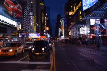 New York by night June 2015