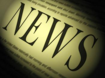 News Paper Shows Media Journalism Newspapers And Headlines